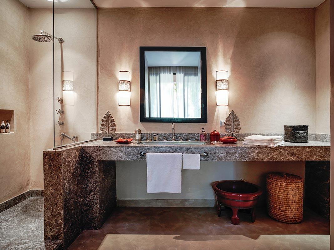 Salle De Bain Style Riad ~ riad ziri r sidence de quatre chambres de luxe louer al maaden